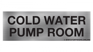 COLD WATER PUMP ROOM