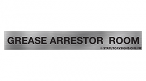 GREASE ARRESTOR ROOM