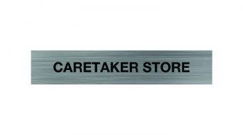 Caretakers Store Sign