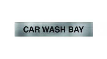 Car Wash Bay Sign