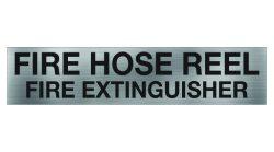 Fire Hose Reel or Extinguisher Sign