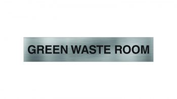 Green Waste Room Sign
