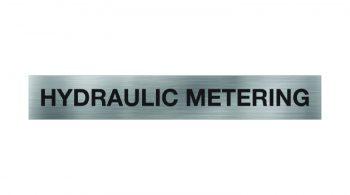 hydraulic-metering