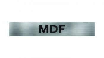 MDF Sign