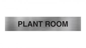 Plant Room Sign