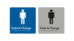 toilet-and-change-blue-silver