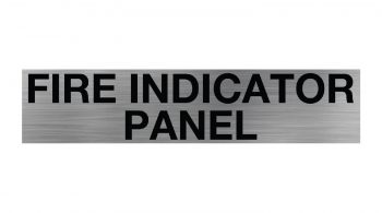 Fire Indicator Panel Sign