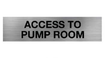 Access to Pump Room