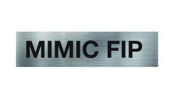 MIMIC Fire Indicator Panel Sign