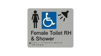 Female Accessible Toilet RH And Shower