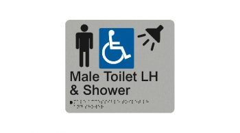 Male Accessible Toilet LH And Shower