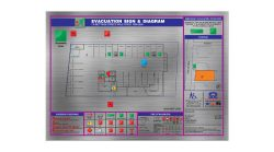 Fire Evacuation Plan Diagram